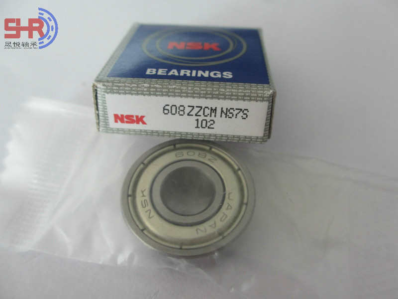 NSK 608ZZ Deep Groove Ball Bearing Electric Motor Bearings