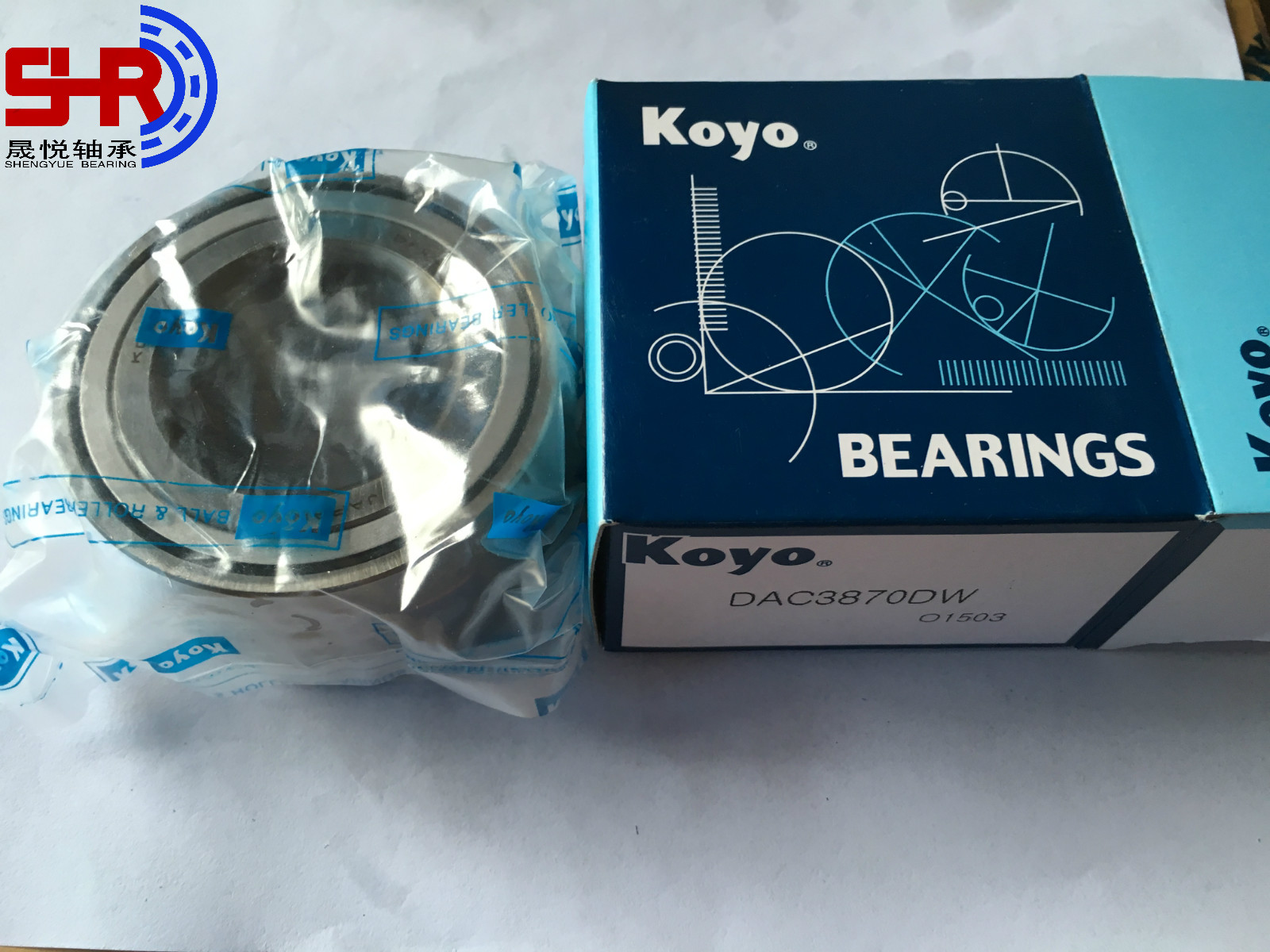 KOYO Auto Wheel Hub Bearings DAC3870DW