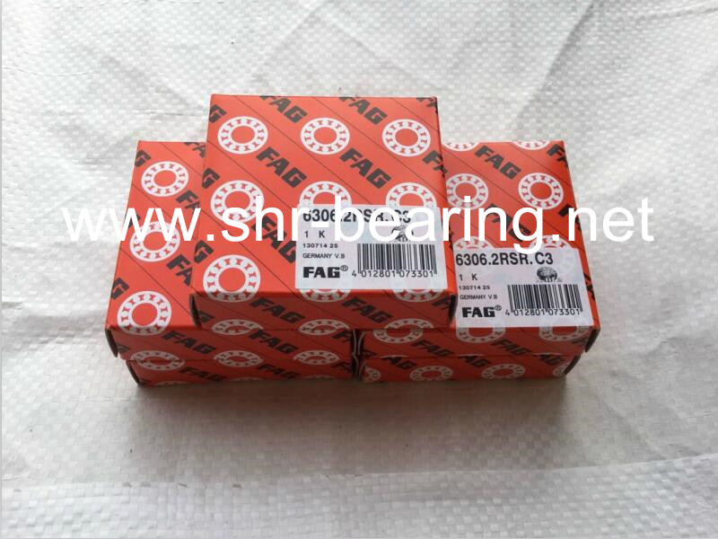 FAG 6205 2RSR C3 Industrial machinery used fag ball bearing