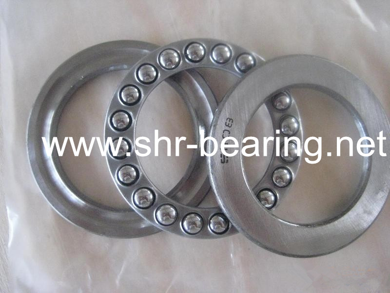 SYBR Steel cage roulement thrust ball bearing 51206 gearbox thrust bearing