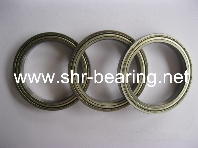 SYBR 61809 6809 ZZ Deep Groove type thin section bearing