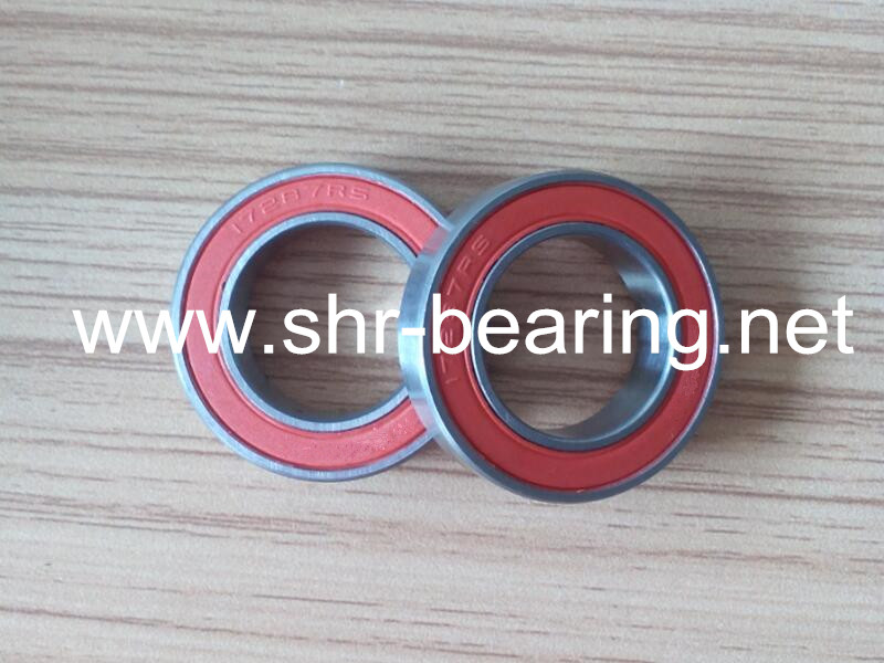 SYBR 17287-2RS rubber seal bicycle ball bearings