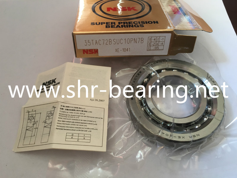 NSK 30TAC72BSUC10PN7B Ball Screw Support Bearing