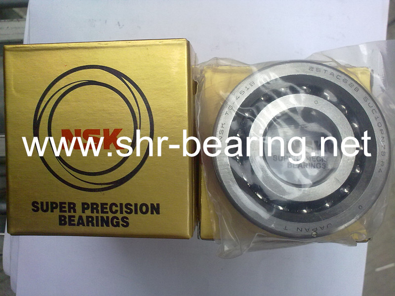 NSK ball bearings meaning on angular contact bearing 25TAC62B