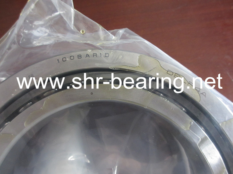 NSK CNC spindle bearings 120BTR10STYNDBLP4A 40 ° Angle Angular type precision bearing