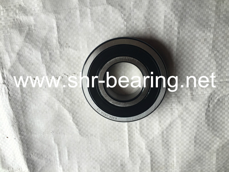 SYBR mechanical disc mounting of a deep groove ball bearing 6308-2RS