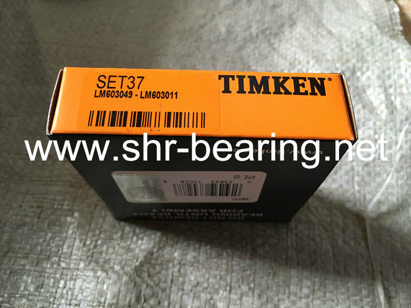 TIMKEN JLM506849A/JLM506811 SET42 Unitized tapered roller bearings