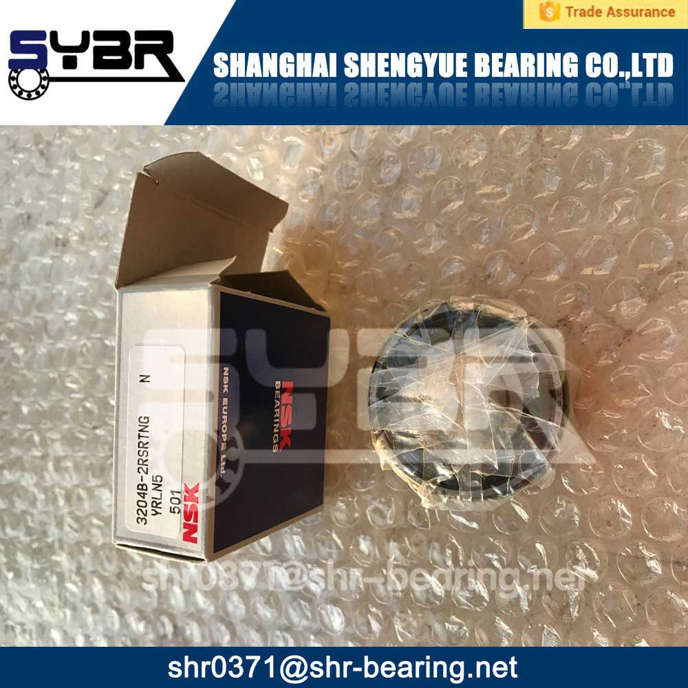 3204B-2RSRTNG NSK bearing double row ball